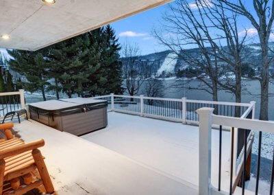 Cabin 5 - Deck View