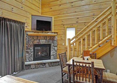 Cabin 46R - Fireplace