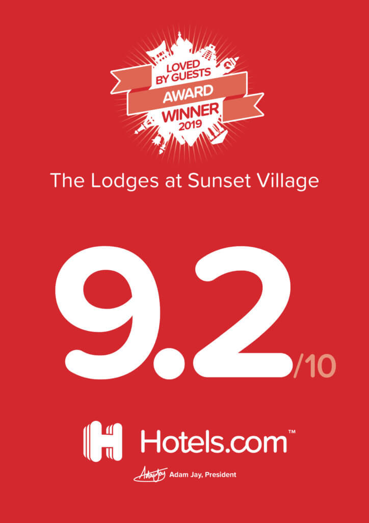 Most Loved by Guests at the Lodges